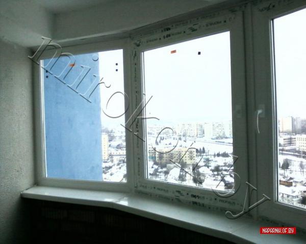 Раздвижные и распашные балконные рамы из пвх и al., минск.