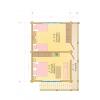 Cруб бани-гостевого дачного домика 6м. на 9м.  с мансардным этажом и дровником из профилированного бруса .