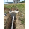Копка,   дренаж  траншеи  прокладка канализации в центральную,  гидроизоляция.