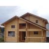 Деревяные дома ручной рубки из лафета по норвежской технологии