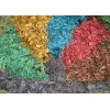 Древесная щепа мульча цветная декоративная в мешках