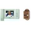 Комплект = ЦВЕТНОЙ домофон Commax 50P + вызывная панель JSB V06 PAL