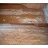 Снятие старой краски с деревянного пола
