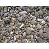 Морская и речная галька в мешках,  разные цвета и размеры камня