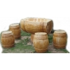 Набор Дубовой мебели «Бочонки»
