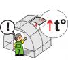 Сверхпрочная оцинкованная теплица «Сибирская АвтоИнтеллект» 6x3x2
